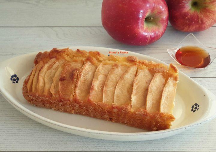 Torta di mele e miele perfetta