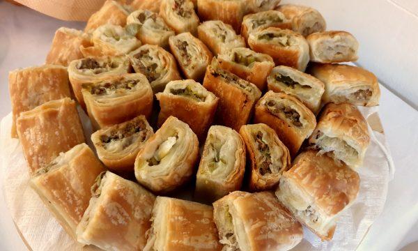 Rustici di pastasfoglia per buffet