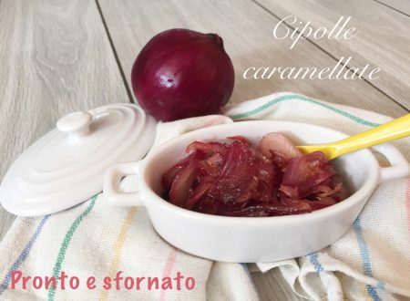 Cipolle rosse caramellate