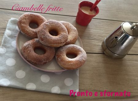 Ciambelle fritte