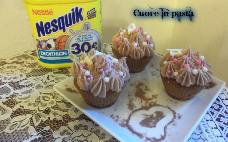 Cheesemuffin al nesquik