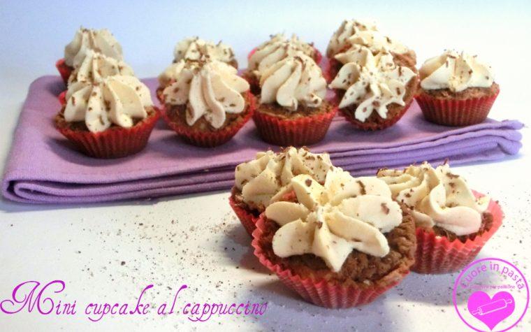 Mini cupcake al cappuccino
