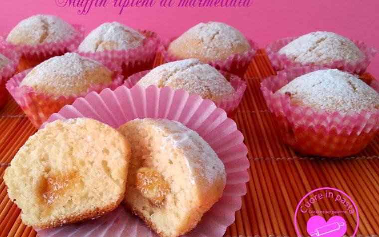 Muffin ripeni  di marmellata