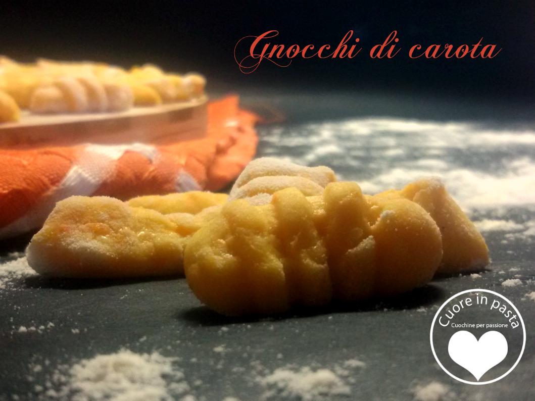 Gnocchi di carota