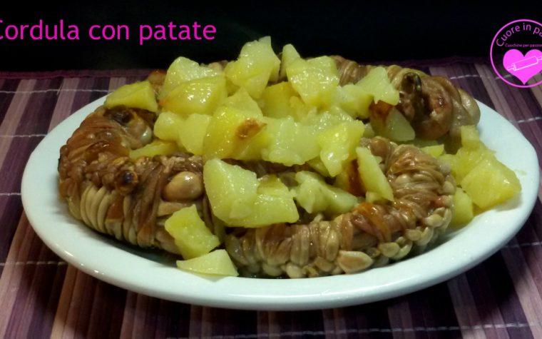 Cordula con patate