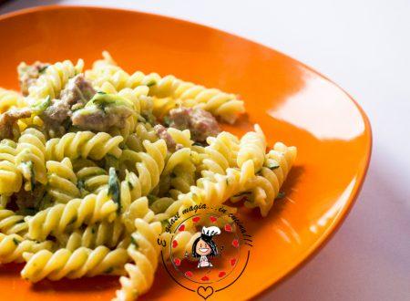 Pasta salsiccia zucchine e mascarpone
