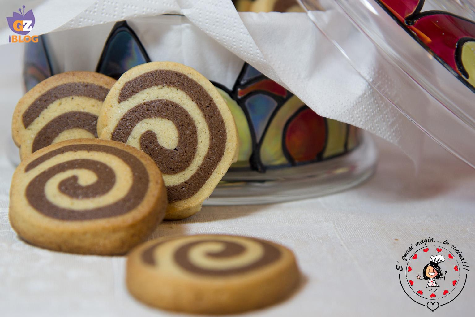 Biscotti Girandola Cannella e Cacao