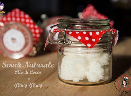 Scrub Naturale Fai da te Olio di cocco e Ylang Ylang