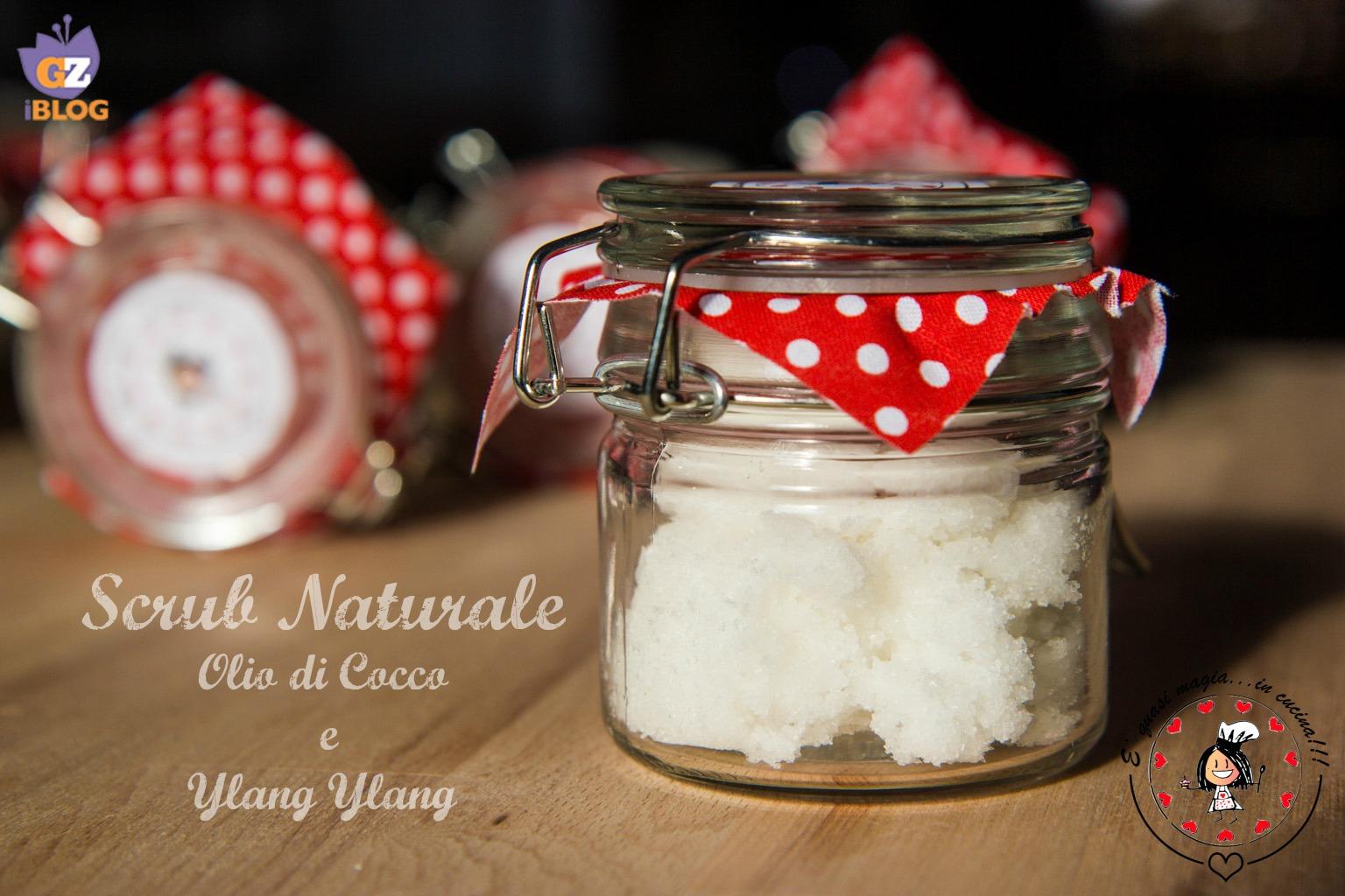 scrub naturale fai da te olio di cocco e ylang ylang | e' quasi ... - Olio Di Cocco Cucina
