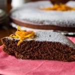 Torta Cacao al profumo di Arancia