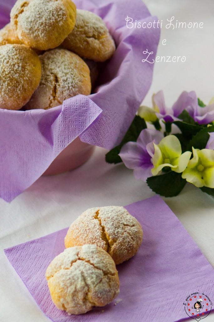 Biscotti Limone e Zenzero