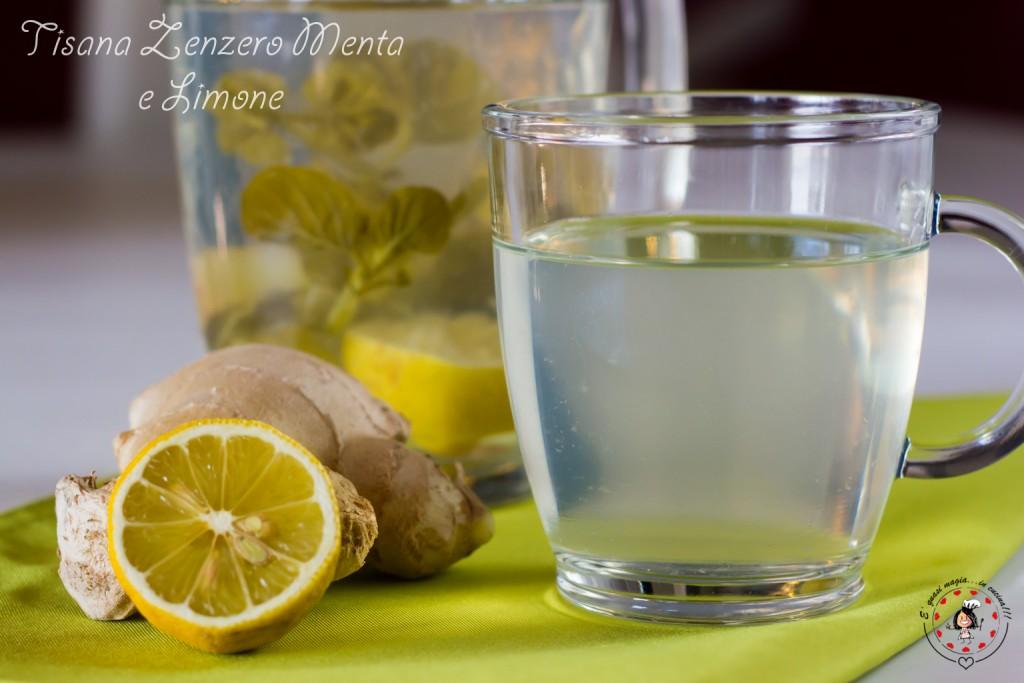 Tisana zenzero Menta e limone