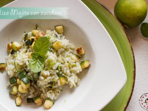 Riso Mojito con zucchine