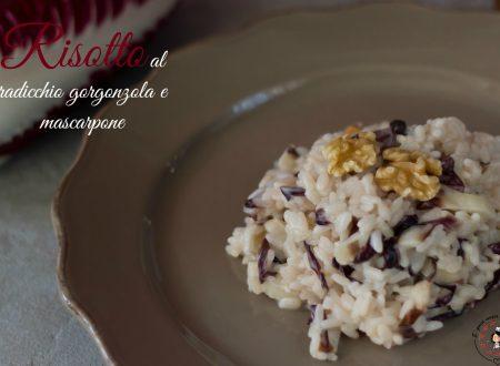Risotto al radicchio gorgonzola e mascarpone