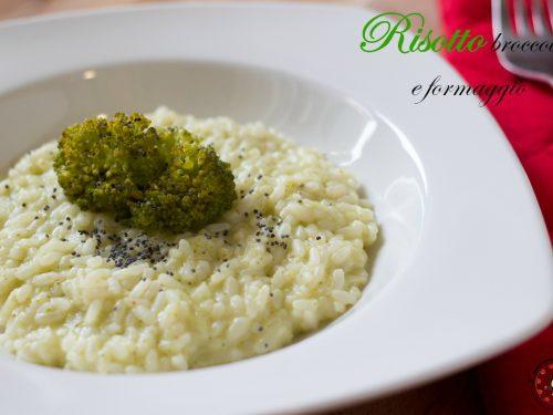 Risotto ai broccoletti e formaggio