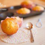 Muffin con marmellata d'arance nell'impasto