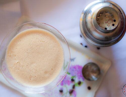 Caffè shakerato con crema di whisky