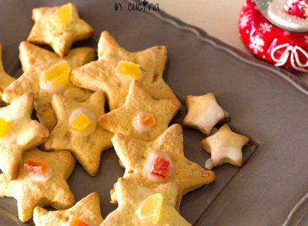 Biscotti Stelle al mandarino