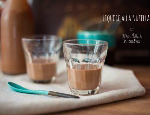 Liquore alla Nutella ricetta semplice (Nutellino)