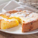 Torta al limone con crema lemon curd
