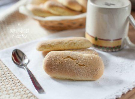 Biscotti da inzuppo con ammoniaca | Ricetta della Nonna
