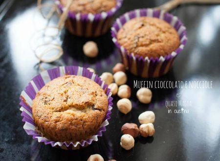Muffin cioccolato e nocciole