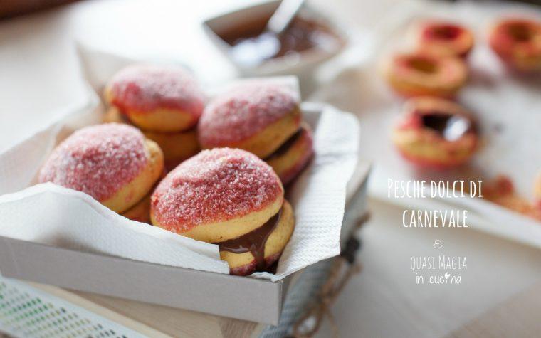 Pesche dolci di carnevale