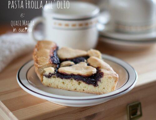 PASTA FROLLA ALL'OLIO light perfetta per crostate e biscotti