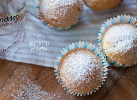 Muffin alla panna senza burro