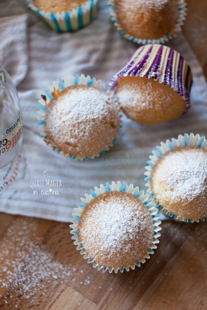 Muffin alla panna senza burro ricetta