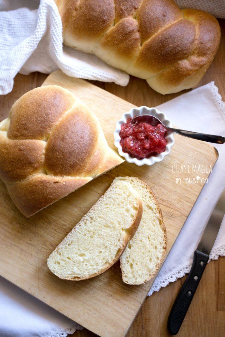Pan Brioche ricetta dolce morbidissimo