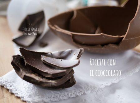 Riciclare il cioccolato delle uova di Pasqua: tantissime ricette golose!