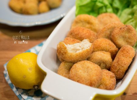 Crocchette di pollo fritte o Chicken Nuggets