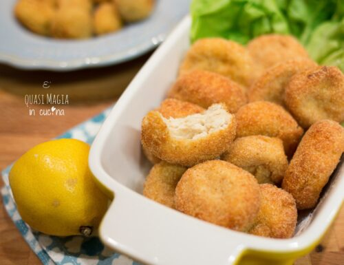 Crocchette di pollo fritte o Chicken Nuggets