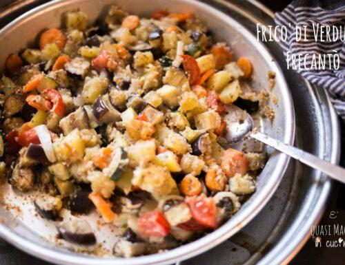 Fricò o Frecantò di verdure – un buon piatto marchigiano