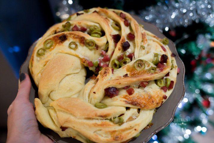 Angelica salata con speck e olive