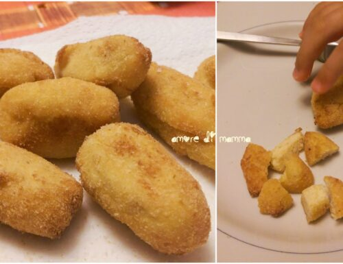 Crocchette di ricotta e parmigiano