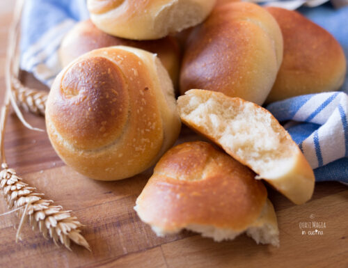 Panini al Parmigiano – Chiocciole di Pane