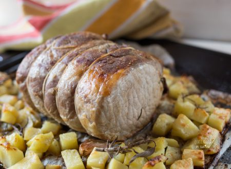 Arrosto di maiale al forno con patate