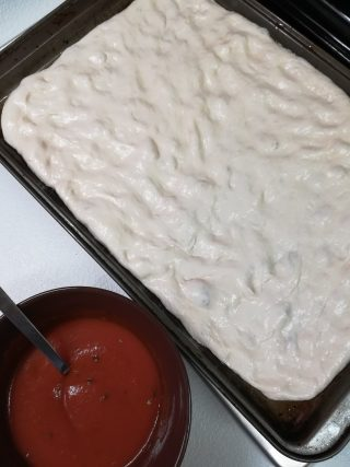 pizza manola in teglia