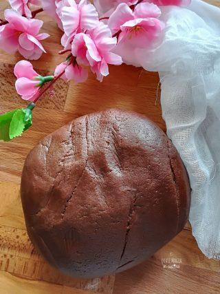 pasta frolla al cacao mixer