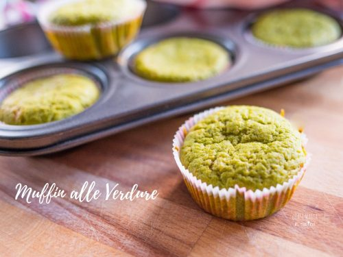 Muffin alle verdure morbidissimi