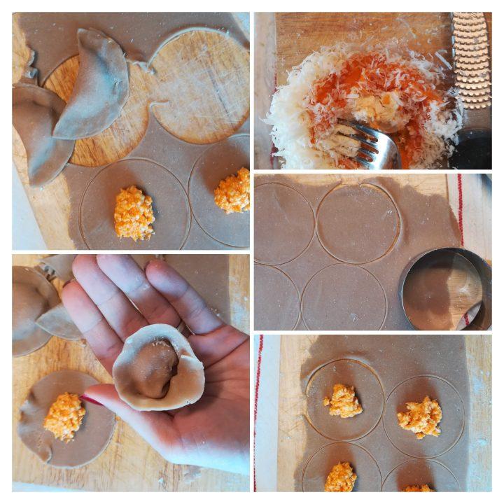 Tortelli con farina di castagne procedimento