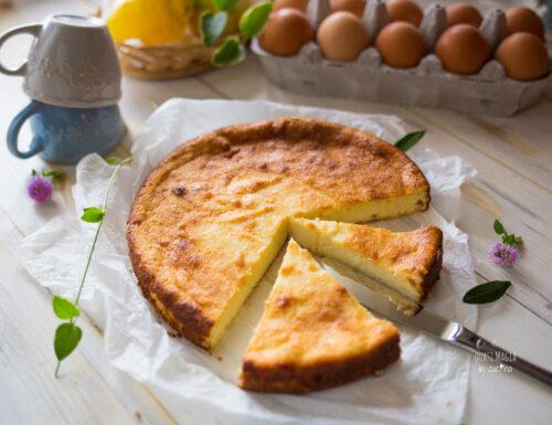 Ricotta al limone al forno, senza farina
