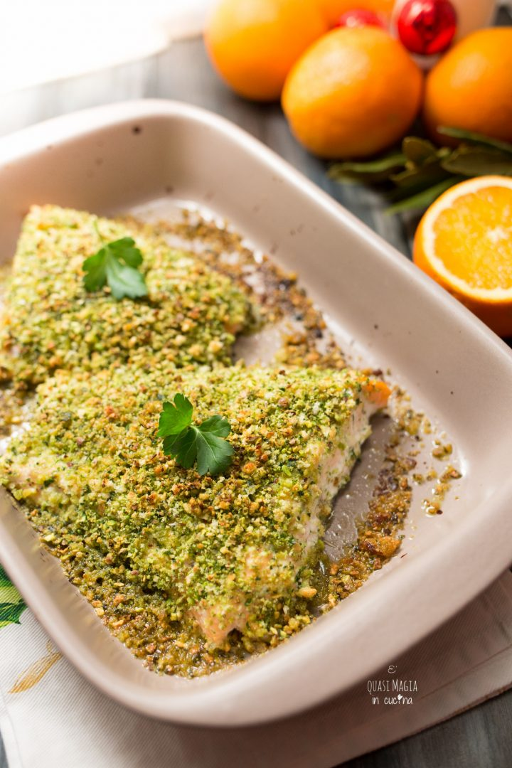 salmone al forno buonissimo