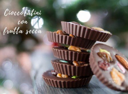 Cioccolatini con frutta secca di Natale