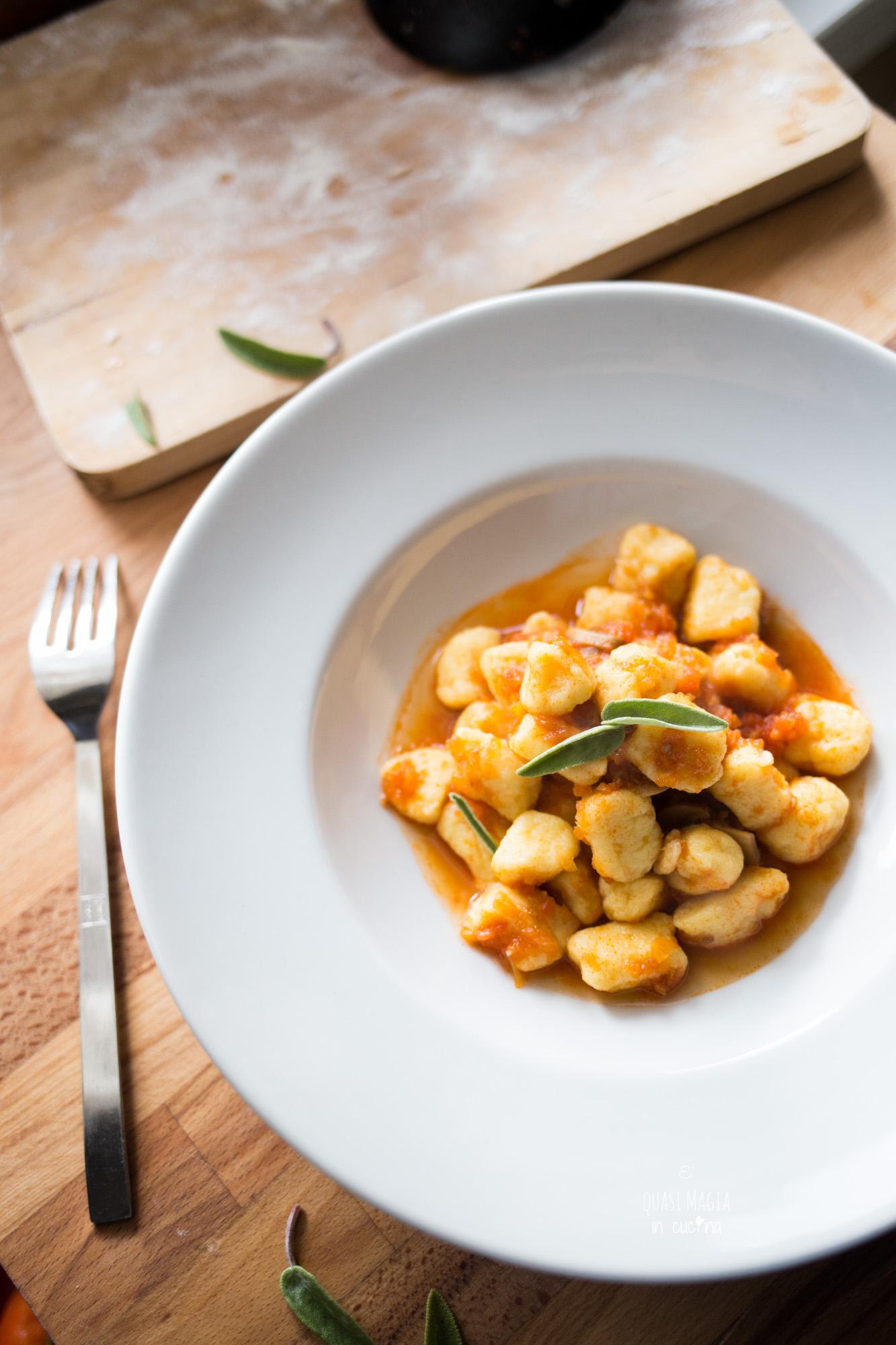 gnocchi di polenta ricetta