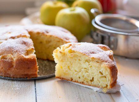 Torta di Mele e Mascarpone piena di mele, morbidissima!