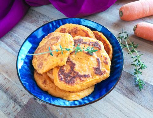 Pancakes alle carote