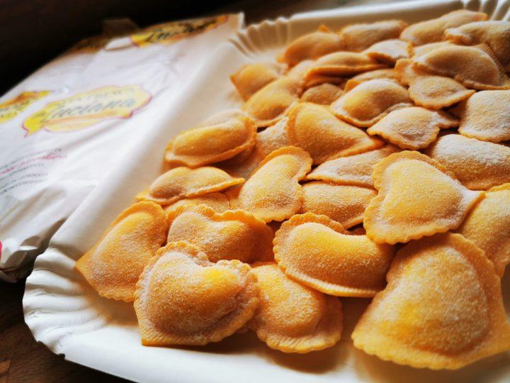 cuori di burrata pasta fresca